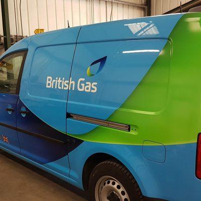 British Gas Van Livery Norwich 1