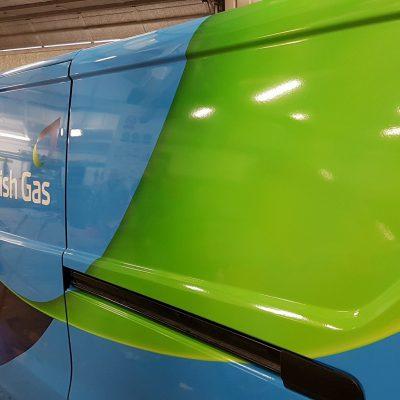 British Gas Van Livery Norwich 2