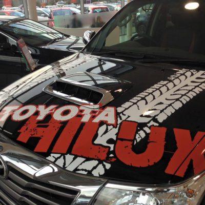 Dingles Norwich Toyota Hilux Vehicle Graphics 2