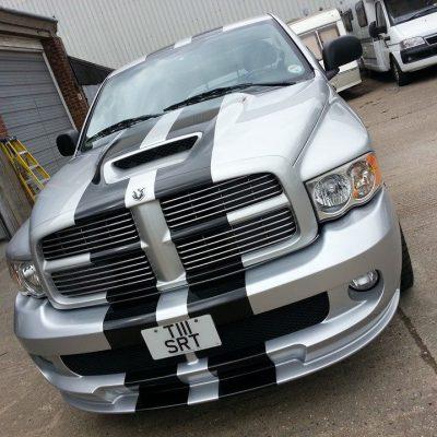 Dodge Ram custom truck wrap