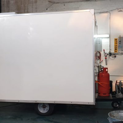 Food trailer vinyl livery norwich 0