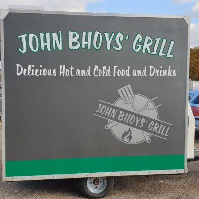 Food trailer vinyl livery norwich 5