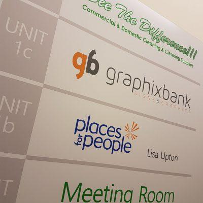 Interior Signage Company Norwich 2