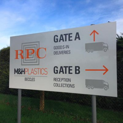 Loddon Sign Maker Norfolk MH Plastics 3