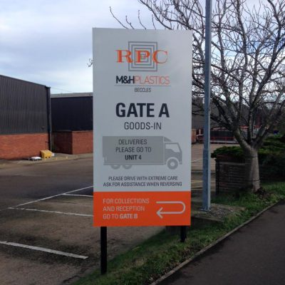 Loddon Sign Maker Norfolk MH Plastics 7