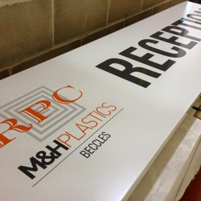 Loddon Sign Maker Norfolk MH Plastics 8