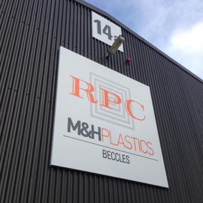Loddon Sign Maker Norfolk MH Plastics 9