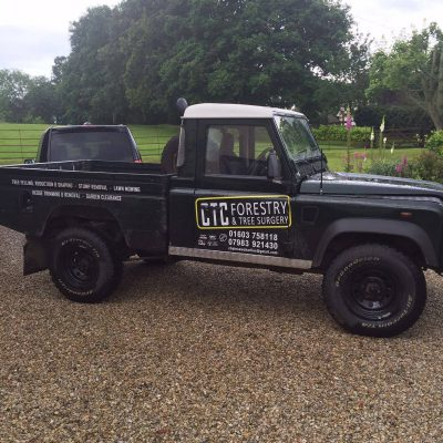 Norfolk Land Rover Vehicle Graphics