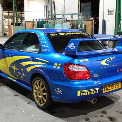 Subaru Impreza WRC Graphics Norwich 2