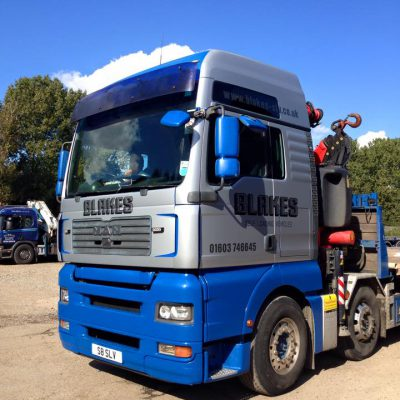 Truck signs Norwich 1