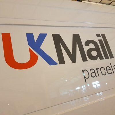 UK Mail Van Signage Norwich 3