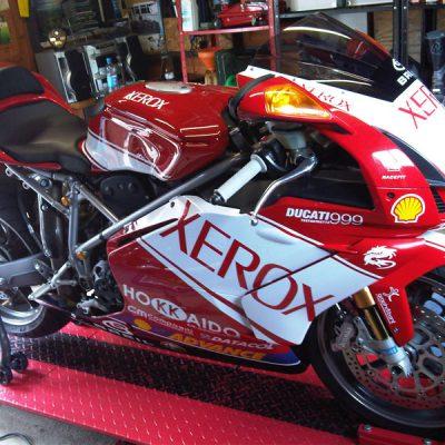 ducati motorbike race stickers loddon norfolk 1