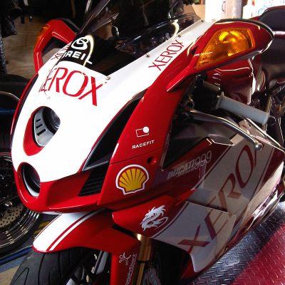 ducati motorbike race stickers loddon norfolk 2