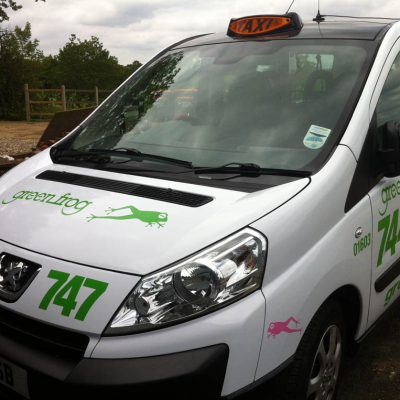 greenfrog taxi livery loddon 2