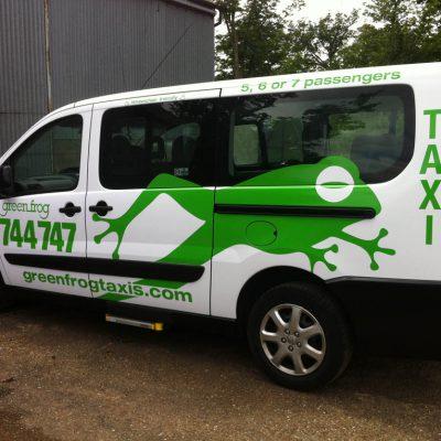 greenfrog taxi livery loddon 3