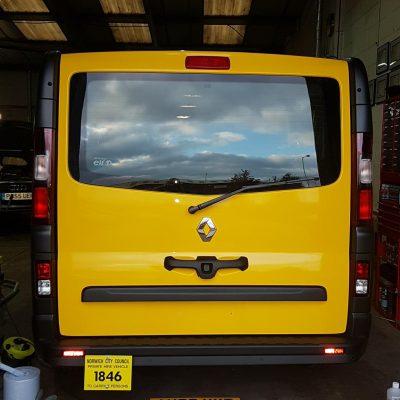 taxi minibus vinyl wrap norwich norfolk 2